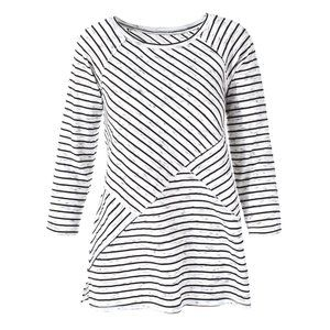 Weekends by Chico's Paradise Stripe Rosabel Tunic